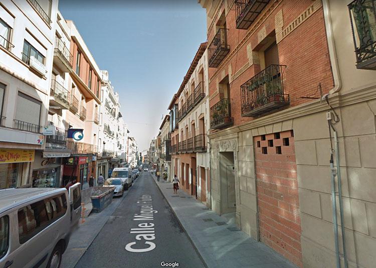 Los hechos tuvieron lugar en una vivienda de la calle Miguel Fluiters