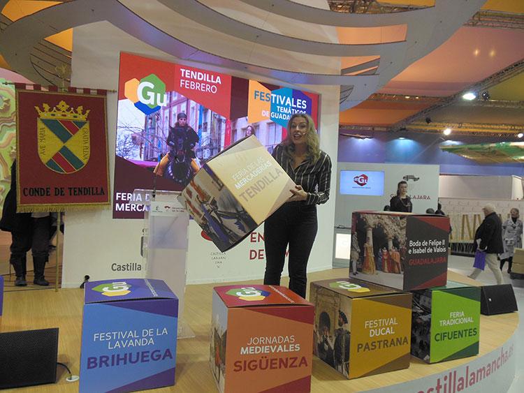 Un momento de la presentación de las propuestas turísticas de Guadalajara