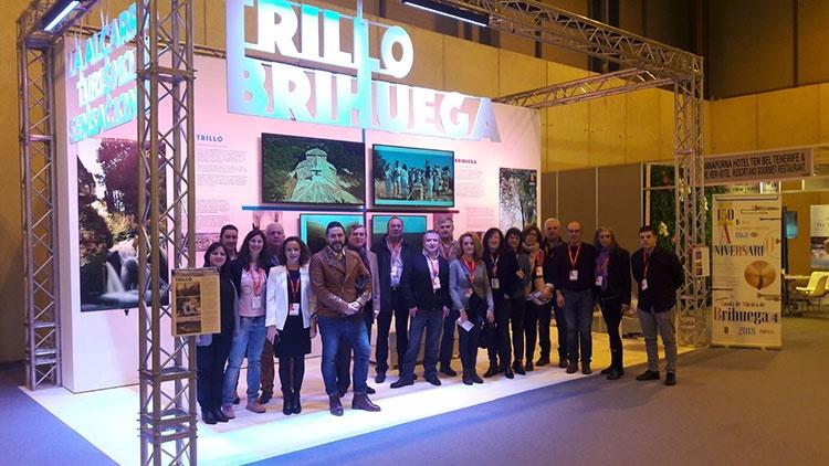 El stand de Trillo y Brihuega en la última edición de FITUR