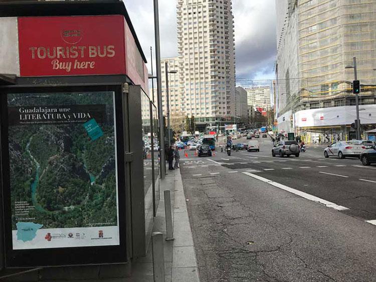 Una de las muchas promociones en Madrid: La zona de Gran Via