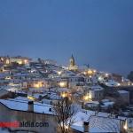 Nieve en Horche
