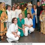 El Hospital de Guadalajara recibe la visita de los Reyes Magos
