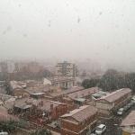Nueva nevada en Guadalajara