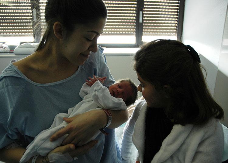 Oliver, el primer bebe del 2018