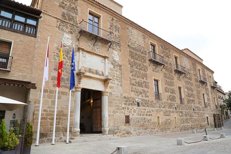 Palacio de Fuensalida, en Toledo, sede del gobierno regional
