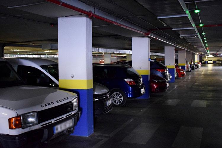 Interior del parking