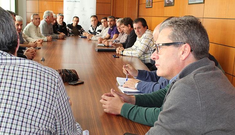 Reunión con los productores de espárragos