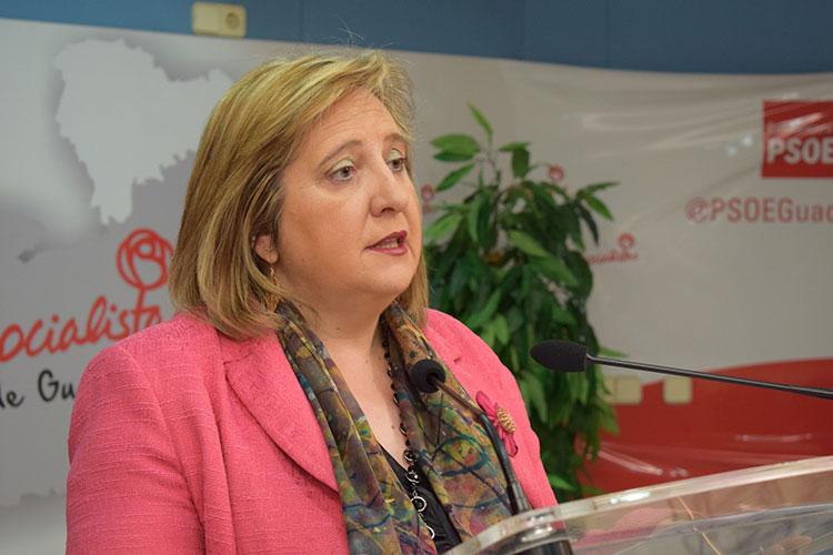 La senadora Riansares Serrano
