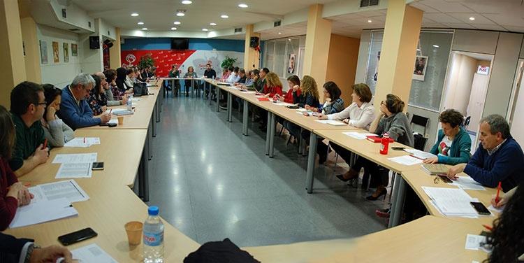 Primera reunión de la nueva ejecutiva provincial