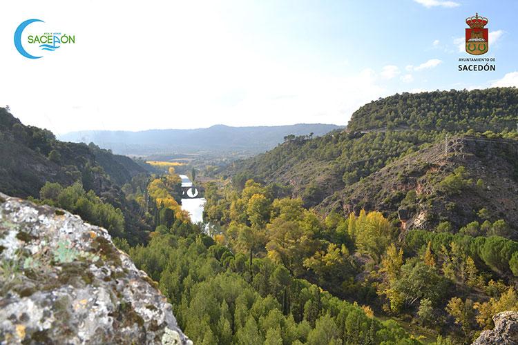Río Tajo en Sacedón