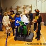 Foto galería: Los Reyes Magos son recibidos por numerosos niños en Sigüenza