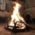 Dulzainas y hogueras en Sigüenza por San Vicente