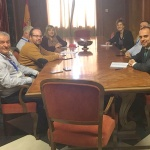 Encuentro de alcaldes y concejales con parlamentarios socialistas para pedir la autovía de La Alcarria