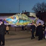 El entierro de la sardina, último acto del Carnaval azudense