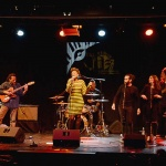 El concierto de 'Astrid Jones & The Blue Flaps' cerró el XVII Mes del Jazz en Azuqueca