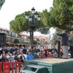 Cerca de 300 personas se suman en Azuqueca a la concentración para reclamar un mayor incremento de las pensiones