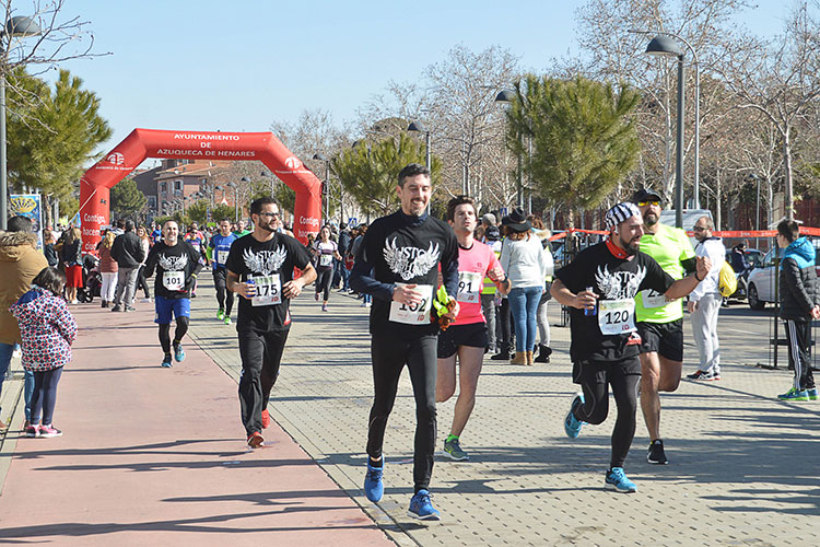 Un momento de la carrera. Fotografía: Álvaro Díaz villamil / Ayuntamiento de Azuqueca