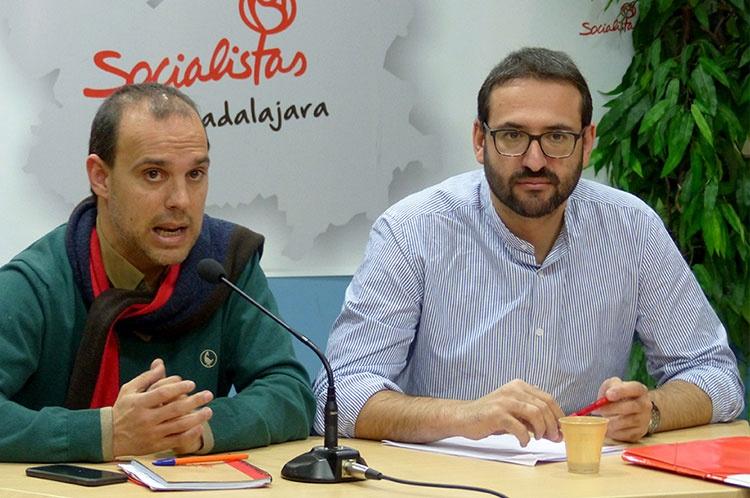 Rueda de prensa de Pablo Bellido y Sergio Gutiérrez