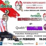Los alcarreños del Quabit Guadalajara visitan a un Puerto Sagunto con necesidad de ganar