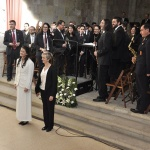 La Banda Provincial de Música de la Diputación de Guadalajara homenajea a la Banda de Brihuega por sus 150 años