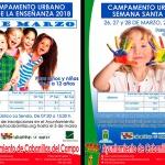 Nuevos campamentos urbanos para escolares en Cabanillas: el día 9 de marzo y en Semana Santa