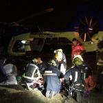 Una persona resulta herida mientras practicaba parapente en Alarilla