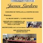 El concurso de tortillas del Jueves Lardero abre el Carnaval de Azuqueca