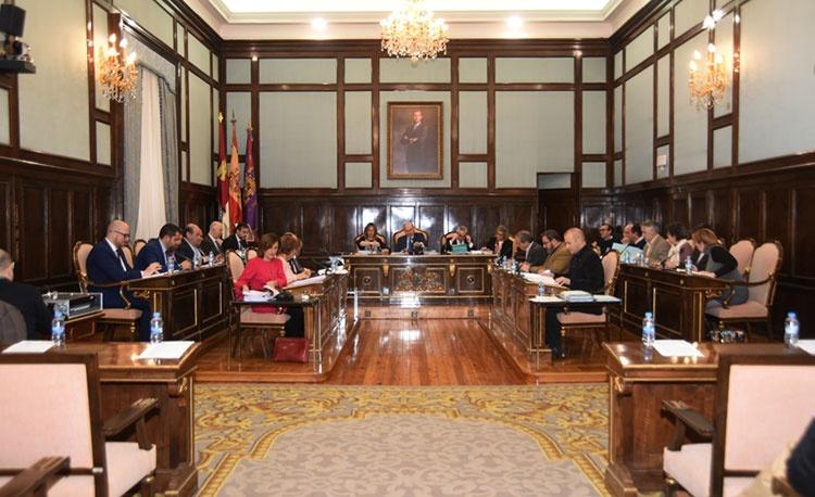 Pleno de la Diputación Provincial