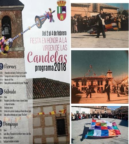 Cartel de las fiestas de Candelas en El Casar