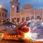 Con el entierro de la sardina finalizó el carnaval de la capital