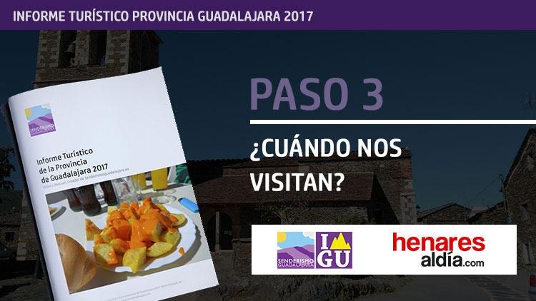 Informe turístico de la provincia de Guadalajara 2017 (III)