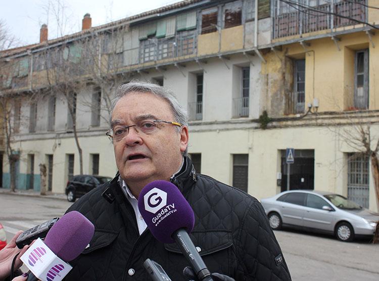 Rueda de prensa de Juan Antonio de las Heras