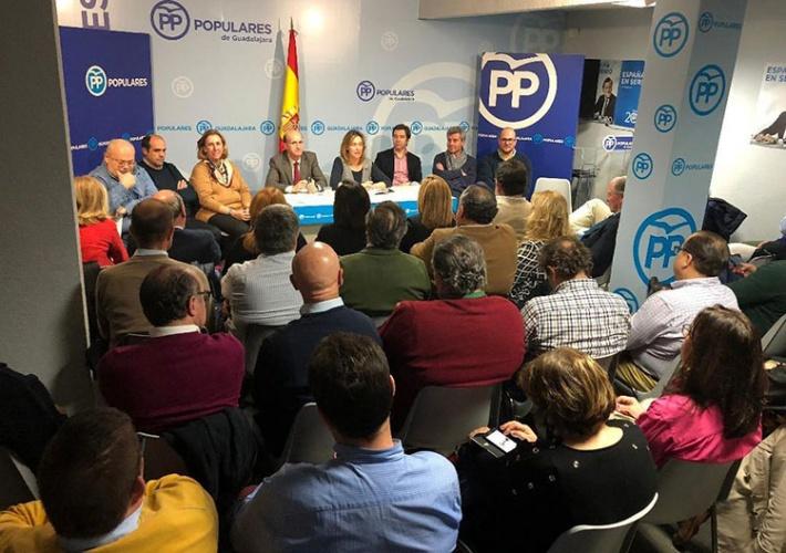 Reunión de la Junta Directiva Provincial y del Comité Ejecutivo Provincial de los populares