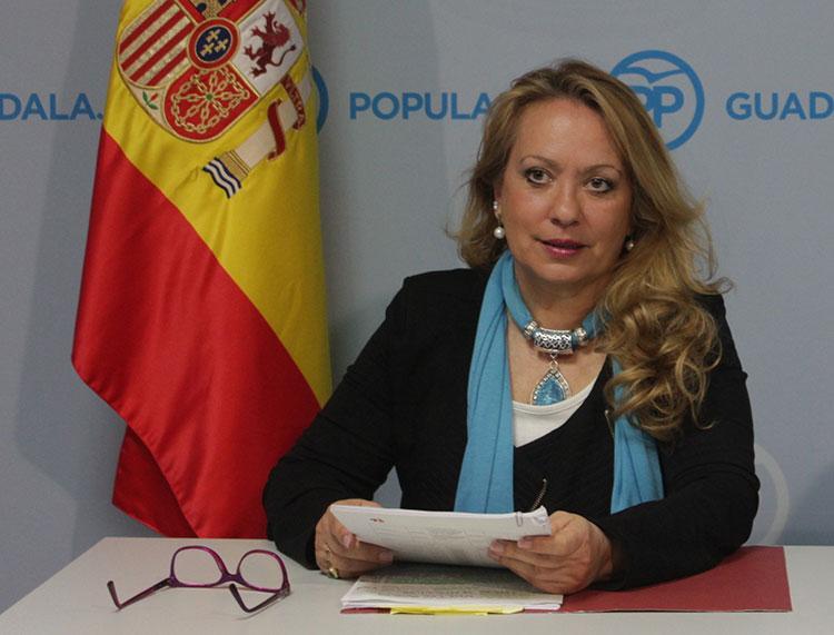 Aure Hormaechea Presidenta del PP de Azuqueca de Henares y portavoz del Grupo Popular en el Ayuntamiento