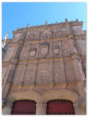 Universidad de Salamanca, donde Luisa de Medrano fue la primer catedrático