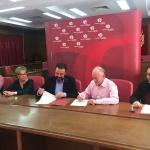 Firmado el convenio anual entre el Ayuntamiento de Azuqueca y la Banda