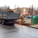 Comienza la instalación de contenedores soterrados en las calles de La Encina y La Quebradill
