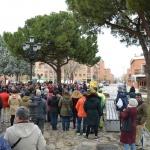 Cerca de 200 personas participan en Azuqueca en la concentración del 8 de Marzo