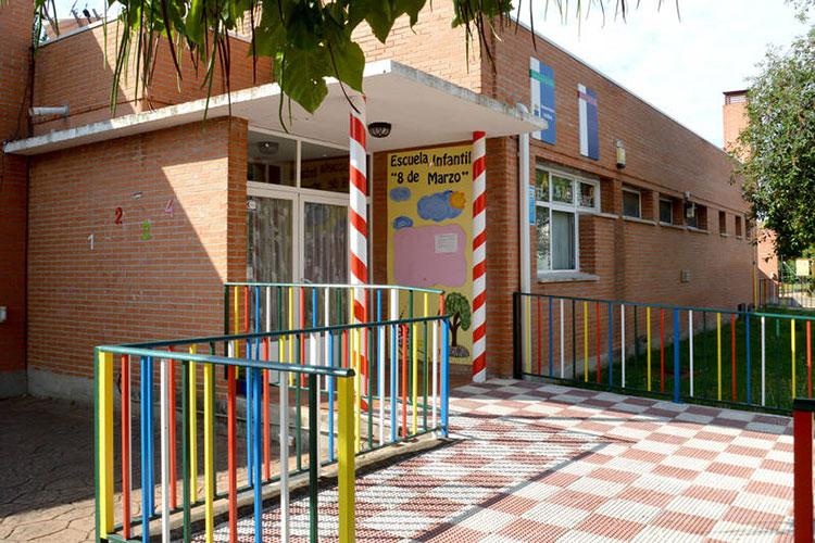 La Escuela Infantil municipal 8 de Marzo fue la primera que abrió sus puertas. Fotografía: Álvaro Díaz Villamil / Ayuntamiento de Azuqueca