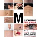 El colectivo 'Mujeres artistas de Guadalajara' expone 'Mujer anuncio, mujer denuncia' en Azuqueca