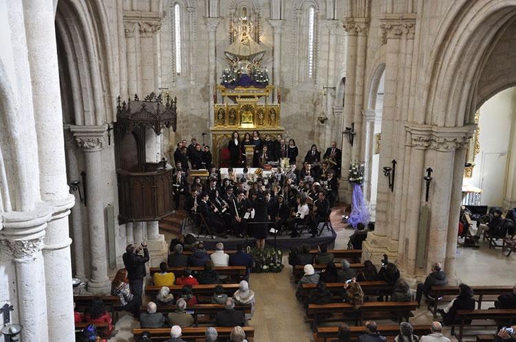Concierto de marchas procesionales que ofreció la Banda de Música de Brihuega