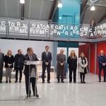 Zoido inaugura la exposición 'Once de Marzo' en el XIV aniversario de unos atentados que dejaron 16 muertos de Guadalajara
