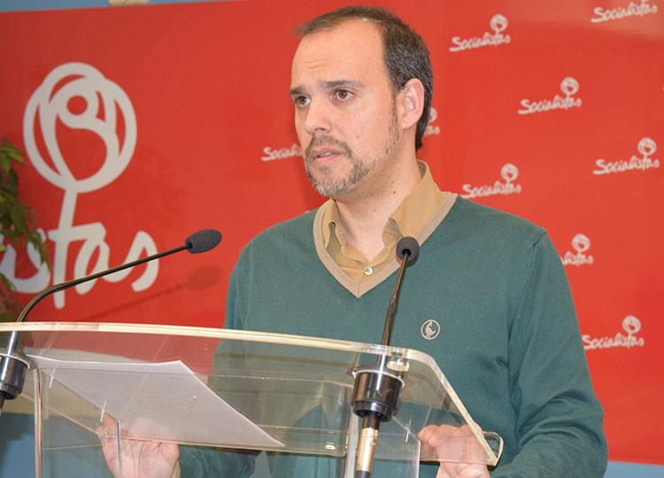 El secretario provincial del PSOE, Pablo Bellido