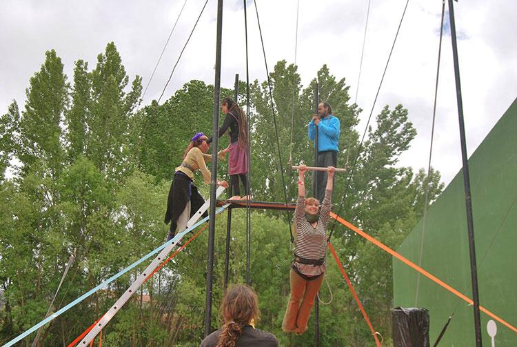 Albendiego acoge este peculiar festival de circo