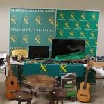 Seis personas detenidas relacionadas con robos cometidos en Sigüenza
