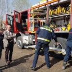 Nuevo camión para el Parque de Bomberos de Sigüenza