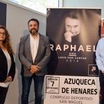 El cantante Raphael estará el 7 de septiembre en Azuqueca