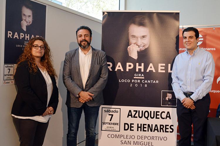 Raphael actuará en Azuqueca el 7 de septiembre