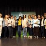 Cristina López Barrio, finalista al Premio Planeta 2017, pasó por la Biblioteca de Alovera