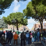Nueva concentración de pensionistas y jubilados en Azuqueca